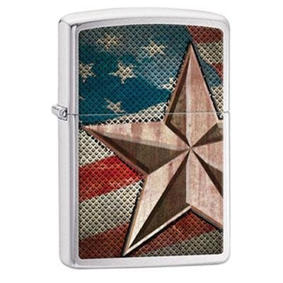 Brand New Zippo Manufacturing Windproof Lighter Flag