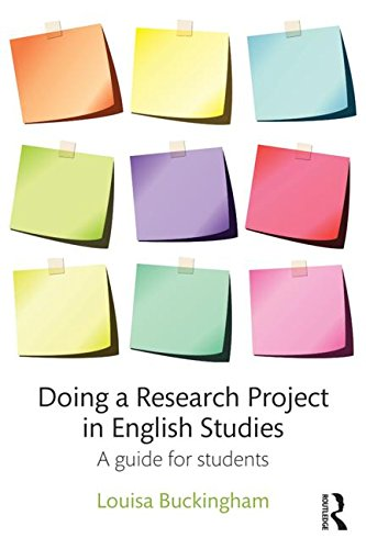 Doing a Research Project in English Studies: A guide for students