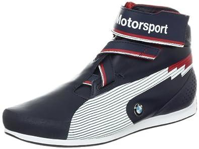 Amazon.com: PUMA Evospeed Mid BMW Fashion Sneaker, Blue/White, 9.5 D