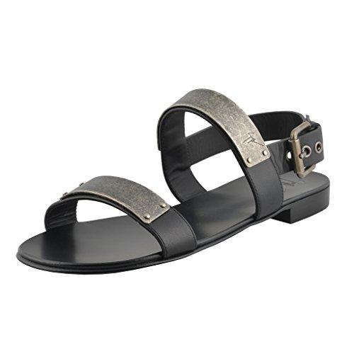 giuseppe-zanotti-homme-zak-mens-black-leather-sandals-shoes-us-7-it-40