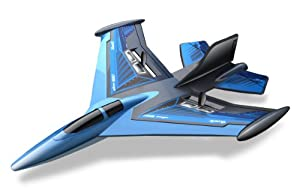 Silverlit X-Twin Jet 2-Channel Radio Control Aeroplane (Colour and Frequency Varies)
