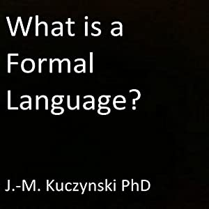 What Is a Formal Language? Audiobook
