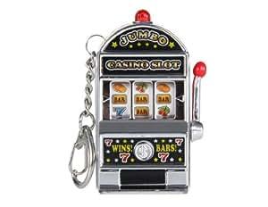 Software slot machine keychain