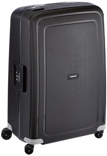Samsonite S'cure Spinner 75/28, 75 cm, 102 litri, Black