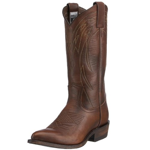 Frye Billy Pull On Boot - Women's Dark Brown Calf Shine Vint