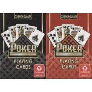 Cartamundi カルタムンディ ポーカートランプ (ポーカーサイズ) 【ブラック】 ホビー エトセ [並行輸入品] -