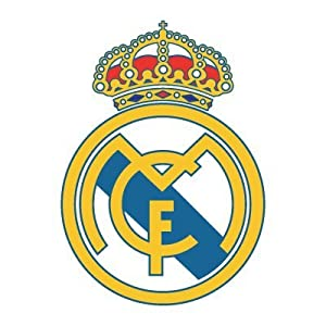 """Real Madrid wall decal sticker logo - 3 stickers sized 7"""""""
