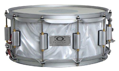 Drum Craft Series 7 Dc837282 Birch 10 X 6 Inches Snare Drum, Liquid Chrome