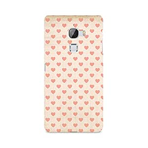 Ebby Vintage Heart Premium Printed Case For LeEco Le Max