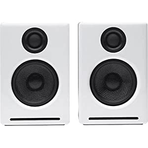 Audioengine A2 Premium Powered Desktop Speaker - Pair (White)