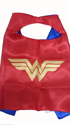 KeepworthSourcing Double Side 55*70CM Superhero capes for Kids Party Children Gifts Wonder Woman