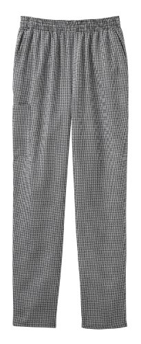 White Swan Pull-On Baggy Pant (Houndstooth M)