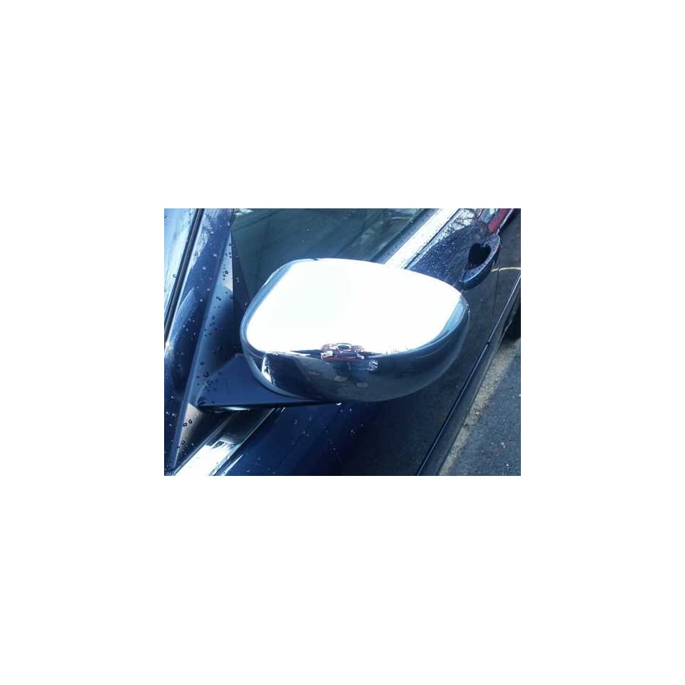 2005 2010 Dodge Magnum 2pc Chrome Mirror Covers for Painted Side View