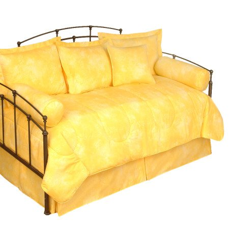 Banana Yellow - Daybed Bedding Set front-1005324