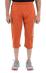 LLUMINATI Men's Cotton Capri (Capry Rust, Rust, M)