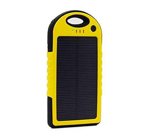 JJF Bird TM Solar Panel Charger 12000mah Rain-resistant Waterproof Shockproof Portable Dual USB Port Portable Charger Backup External Battery Power Pack for Iphone 6 4 4s 5 5sipod, Ipad Ipad Mini Retina(apple Adapters Not Included), Samsung Galaxy Note 2, Note 3, S2 S3, S4, S5, Blackberry Z30, Z10, Q10, Q5, Asus Nexus 4, 5, 7, 10, HTC One V, X, M8, M7, Mini, Max, Motorola Moto G, X, E, Droid, Lg G2, G3, Sony Xperia, Nokia Lumia, Icon, 521, 520, 920, 1020, 1520 Most Android/windows Smart Cell Phones, Gps, Tablets, and Other Usb-charged Devices, Etc. (yellow)