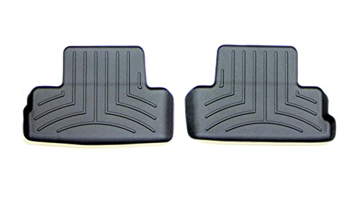 WeatherTech Custom Fit Rear FloorLiner for Ford Mustang (Black) (Weathertech Mustang 2010 compare prices)