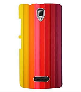 ColourCraft Colour Pattern Back Case Cover for LENOVO A2010