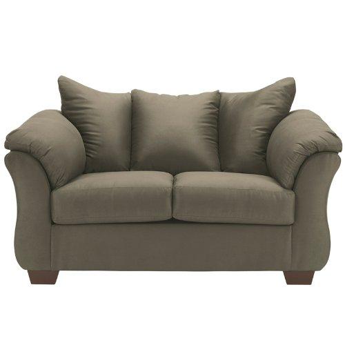 Flash Furniture Darcy Loveseat, Sage Fabric