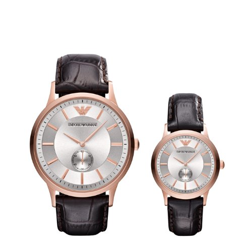 Emporio Armani His & Her's Watches