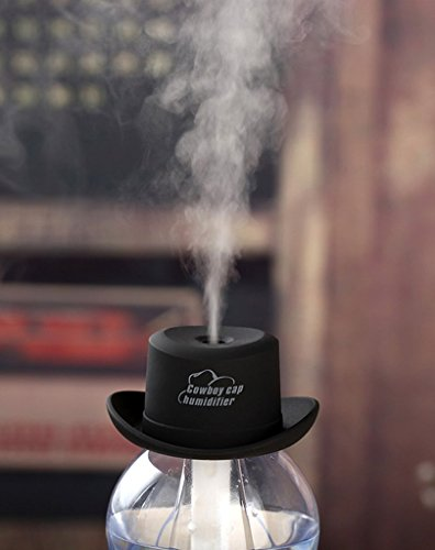 Great Deal! BESTBY Mini cowboy hat humidifier creative cowboy hat gift office moisturizing portable ...