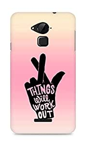 AMEZ things will work out Back Cover For Coolpad Note 3