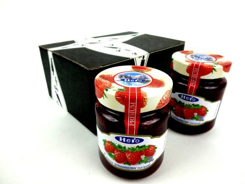 Hero Premium Strawberry Fruit Spread, 12 oz Jars