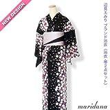 辺見えみりプロデュースブランド浴衣コーディネイト【舞花-maihana-】2点セット