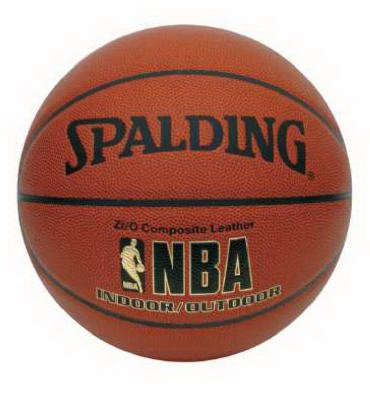 Spalding Sports Div Russell Official Size Nba 64-497 Basketball