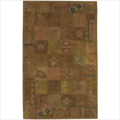 Dream Gold / Beige Contemporary Rug Size: 8' Octagon