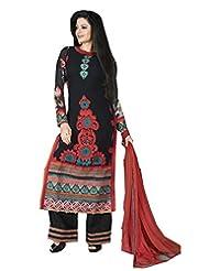 DivyaEmporio Women's Ethnic Salwar Suit Dupatta Unstitched Dress Material (Free Size) - B00V4IEZIK