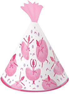 Creative Converting Tutu Much Fun Birthday Party Hats, 8 Count from Creative Converting