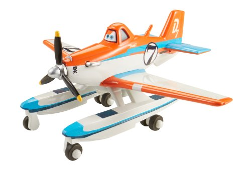 Disney Planes Fire And Rescue Racing Dusty With Pontoons Die-Cast Vehicle front-72315