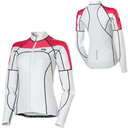 Buy Low Price Louis Garneau Women's ETS Long Sleeve Jersey (9823220-1C0-L)