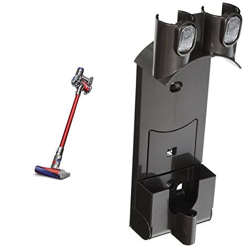 Dyson V6 Absolute Cord-free Vacuum and Dyson DC58 DC59 Handheld Vacuum Cleaner Wall Mount Bracket / Docking Station Bundle (Dyson Wall Mount Bracket compare prices)