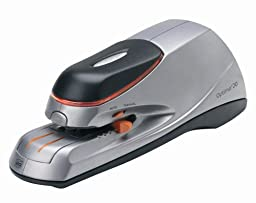 Rexel Optima 20 Electric Stapler - Silver/ Black