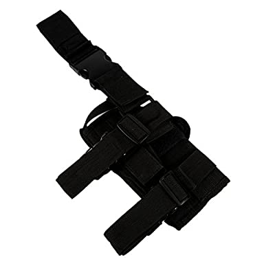 Shootmy New Gen Right Tactical Leg Holster Leg Harness (Black)