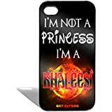 Get Fatang I Am Not A Princess - TV Series Theme Printed Back Cover Case For Apple IPhone 5/5S