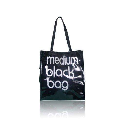 Little Brown Bags - Medium Black Bag NEW - Shopper Tote Handbag