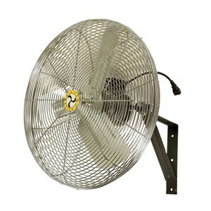 ca24wc 24 non oscillat wall mount fan airmaster