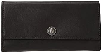 FRYE Melissa Snap Vintage 34DB8743 Wallet,Black,One Size