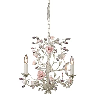 ELK Lighting 8091/3 Three Light Chandelier from the Heritage Collection,