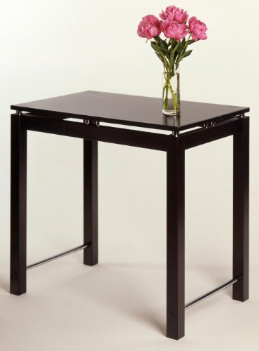 Cheap Linea Kitchen Island Table With Chrome Accent By Winsome Wood (B003XX4DSQ)