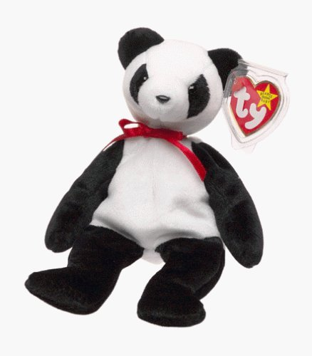 Ty Beanie Babies - Fortune the Panda Bear - 1