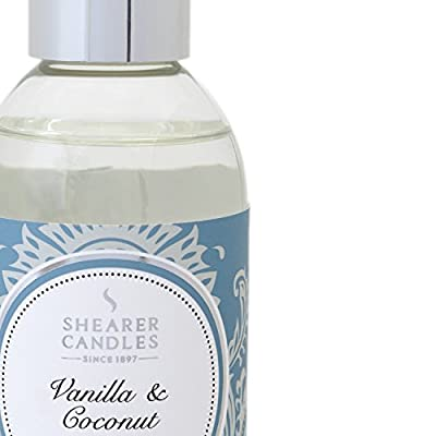 "Shearer Candles 200 ml ""Vanilla and Coconut"" Scented Reed Diffuser Refill from Shearer Candles"