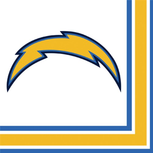 San Diego Chargers Luncheon Napkins