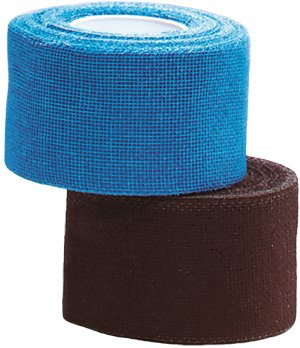 Unique Tourna Tennis Racquet Over Grip Gauze Tape-Blue-1in by 30 Ft-Badminton