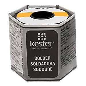 Kester 285 Lead Solder Wire - +682 F Melting Point - 0.015 in Wire Diameter - Sn/Pb Compound