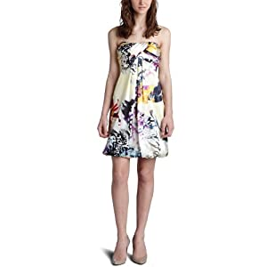 Amazon.com: Jump Junior's Short Printed Bubble Dress With Twist Bust: Clothing from amazon.com