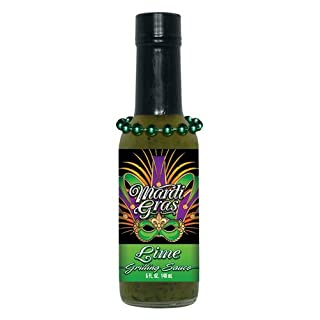 3 Pack HSH Mardi Gras Lime Grilling Sauce w/Beads